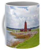 Lighthouse At Port Kissimmee On Lake Tohopekaliga In Central Florida   Coffee Mug