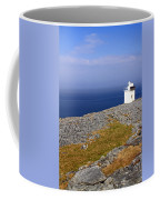 Lighthouse Cliff Coffee Mug