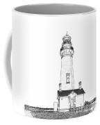 Lighthouse Computer Drawing Coffee Mug