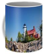 Lighthouse Eagle Harbor Lake Superior -6533 Coffee Mug
