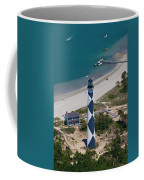 Lighthouse From Above Coffee Mug
