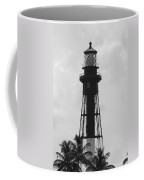 Lighthouse In Black And White Coffee Mug