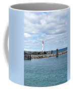 Lighthouse In Michigan Coffee Mug