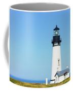 Lighthouse In Nice Weather. Coffee Mug