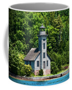 Lighthouse Munising Bay Coffee Mug