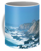 Lighthouse On The California Coast Coffee Mug