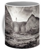 Lighthouse On The Cliff Coffee Mug