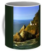 Lighthouse On The Oregon Coast Coffee Mug
