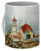 Lighthouse Point Reyes California Coffee Mug