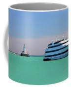 Lighthouse Ship Chicago Navy Pier Coffee Mug