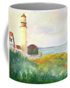 Lighthouse-watercolor Coffee Mug