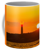 Lighthouse With Flare Coffee Mug