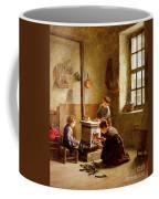 Lighting The Stove Coffee Mug