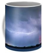 Lightning Bolting Across The Sky Coffee Mug