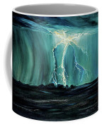 Lightning On The Prairie Coffee Mug