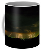 Lightning Over Denver Coffee Mug