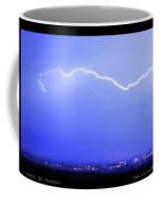 Lightning Over North Boulder Colorado  Poster Lm Coffee Mug