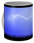 Lightning Over North Boulder Colorado  Poster Sp Coffee Mug