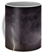Lightning Over Perris Coffee Mug