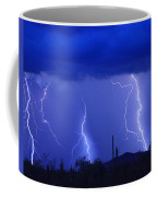 Lightning Storm In The Desert Fine Art Photography Print Coffee Mug
