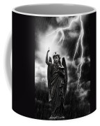 Lightning Strikes The Angel Gabriel Coffee Mug by Amanda Elwell