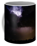 Lightning Thunderstorm Cell 08-15-10 Coffee Mug by James BO  Insogna