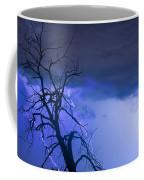 Lightning Tree Silhouette 38 Coffee Mug