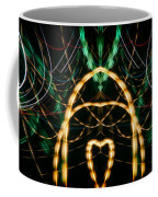 Lightpainting Panorama Print Photograph 1 Coffee Mug