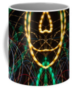 Lightpainting Panorama Print Photograph 2 Coffee Mug