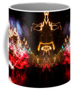 Lightpainting Panorama Print Photograph 6 Coffee Mug
