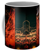 Lightpainting Quads Art Print Photograph 1 Coffee Mug