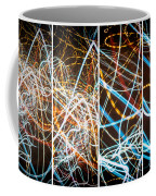 Lightpainting Quads Art Print Photograph 3 Coffee Mug