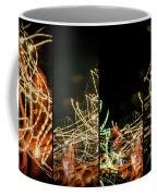 Lightpainting Quads Art Print Photograph 5 Coffee Mug