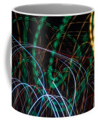 Lightpainting Single Wall Art Print Photograph 1 Coffee Mug