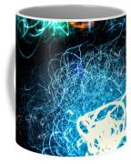 Neon Fuzz Ball Coffee Mug