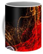 Lightpainting Single Wall Art Print Photograph 2 Coffee Mug