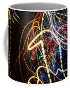 Lightpainting Single Wall Art Print Photograph 3 Coffee Mug