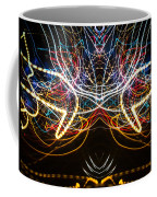 Lightpainting Symmetry Wall Art Print Photograph 1 Coffee Mug