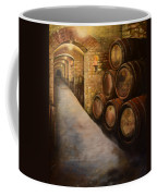 Lights In The Wine Cellar - Chateau Meichtry Vineyard Coffee Mug