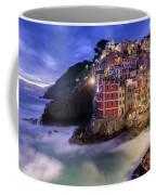 Lights Of Riomaggiore Coffee Mug