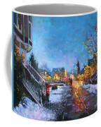 Lights On Elmwood Ave Coffee Mug