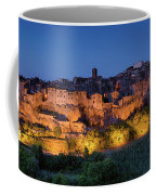 Lights On Pitigliano Coffee Mug