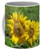 Like Two Smiles In Bloom Coffee Mug