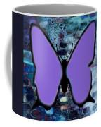 Lila Papillon Coffee Mug