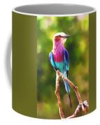 Lilac-breasted Roller Coffee Mug