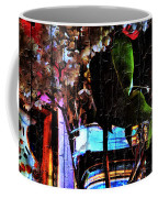 Lilac Brimmed With Dew Coffee Mug