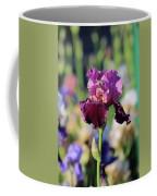 Lilac Iris In Bloom Coffee Mug