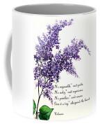 Lilac  Poem Coffee Mug