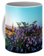 Lilacs And Sunset To Blue Hour Transition Over Gamla Stan In Stockholm Coffee Mug