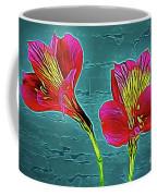 Lilies 18-10 Coffee Mug
